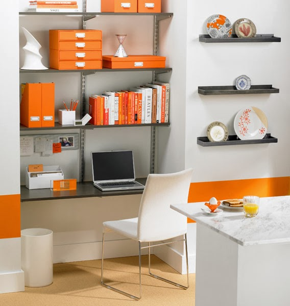 Small office space design ideas - Workspace ideas small spaces ideas ...