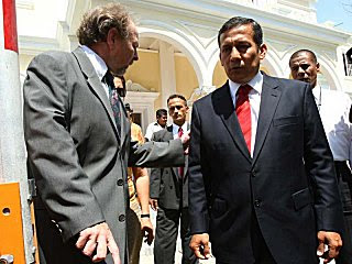 Salomon Lerner Ollanta Humala
