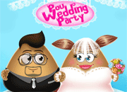 Pou Wedding Party