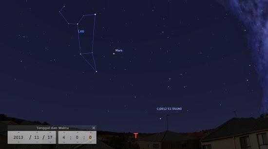 Bulan Purnama, Hujan Meteor Leonid dan Komet ISON di Akhir Pekan