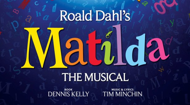 MATILDA THE MUSICAL AT THE CAMBRIDGE THEATRE  LONDONMatilda The Musical Logo