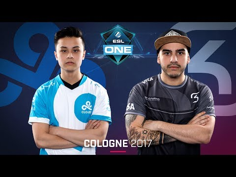 CS:GO - Cloud9 vs. SK [Inferno] Map 3 -Chung kết - ESL One Cologne 2017