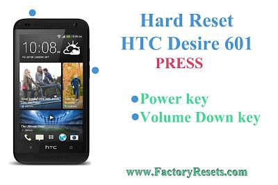 Hard Reset HTC Desire 601