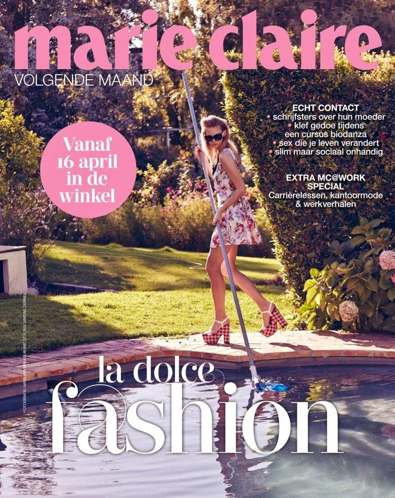 Fashion Model @ Charlotte Nolting - Marie Claire Netherlands, April 2015