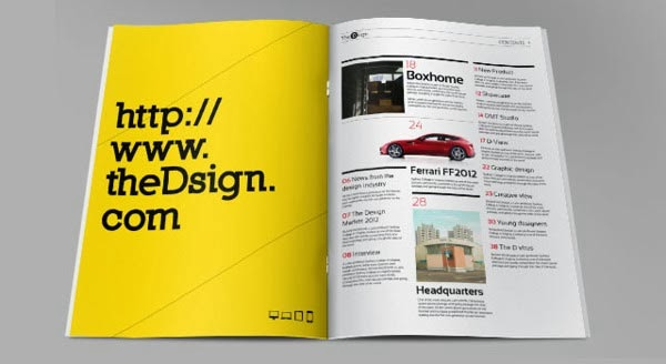 Indesign Magazine Design Templates
