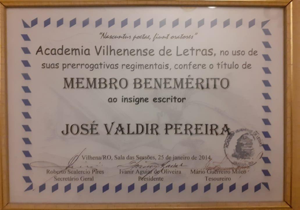 Diploma Benemérito