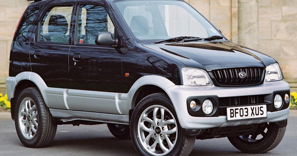 Car And Car Zone Daihatsu Terios Sport 2003 New Cars Car Reviews