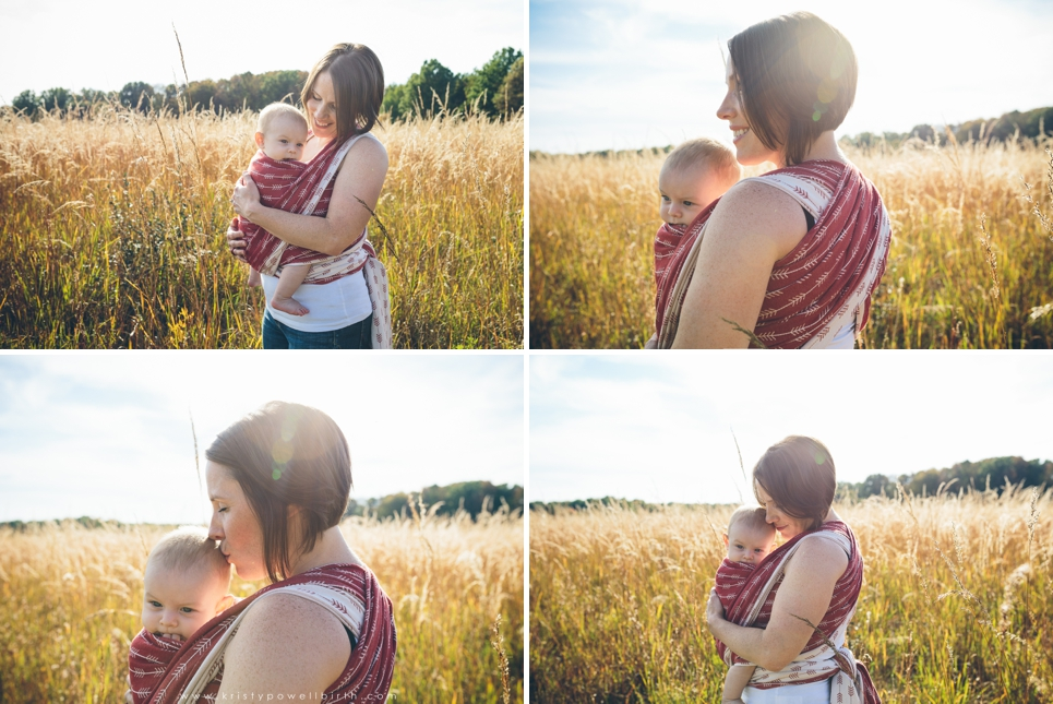 central new jersey babywearing photographer