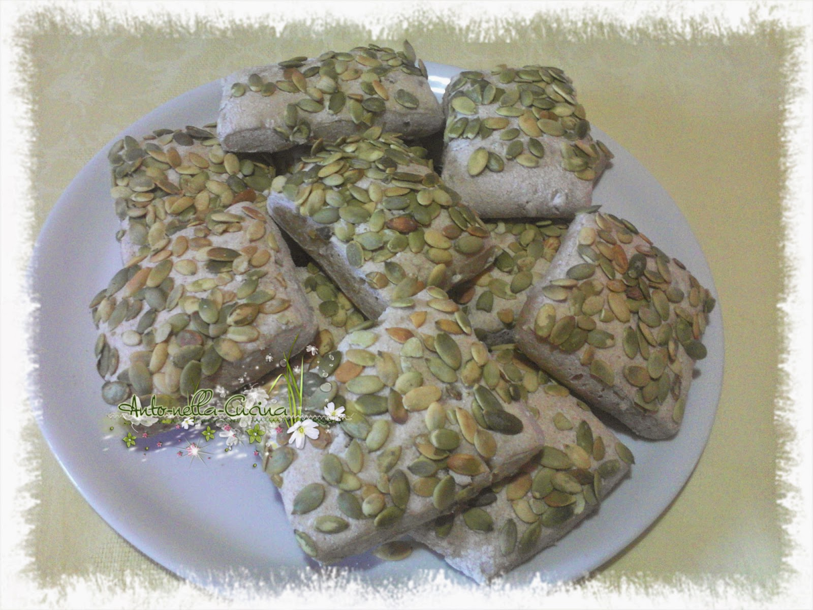 panini semi integrali ai semi di zucca e girasole!