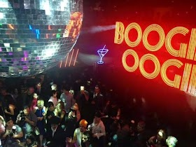 Boogie Oogie faz festa disco