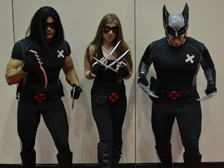 x 23 cosplay  is of Uncanny X-Force Warpath,