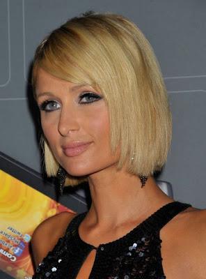 Paris Hilton Best Bob Haircuts - 2011 Bob Hairstyle Ideas for Girls