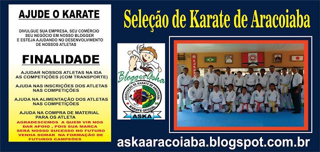 Ajude o Karatê de Aracoiaba