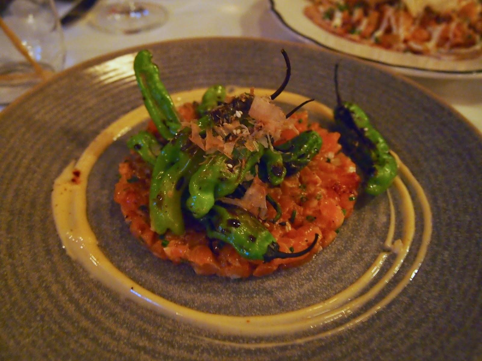 Restaurants in Old Montreal Le Bremner Salmon Tartare