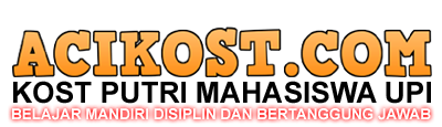 ACI 7 KOST PUTRI KHUSUS MAHASISWA UPI | WA : 0896 8097 1923