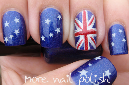 Get Your Aussie On Flag And Something Else More Nail Polish
