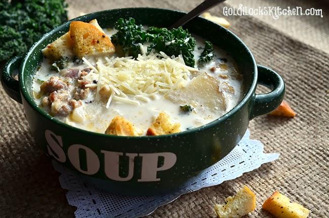Zuppa Toscana Soup - The Goldilocks Kitchen