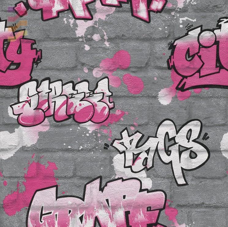 tapeta dla dzieci graffiti