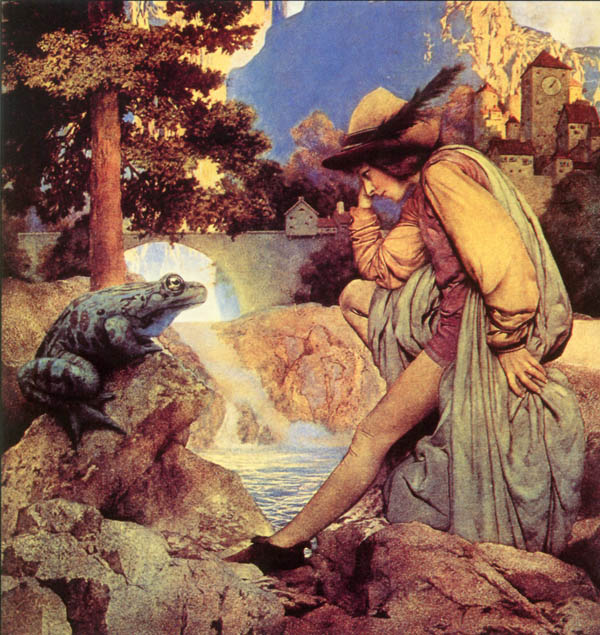 maxfield parrish frog prince