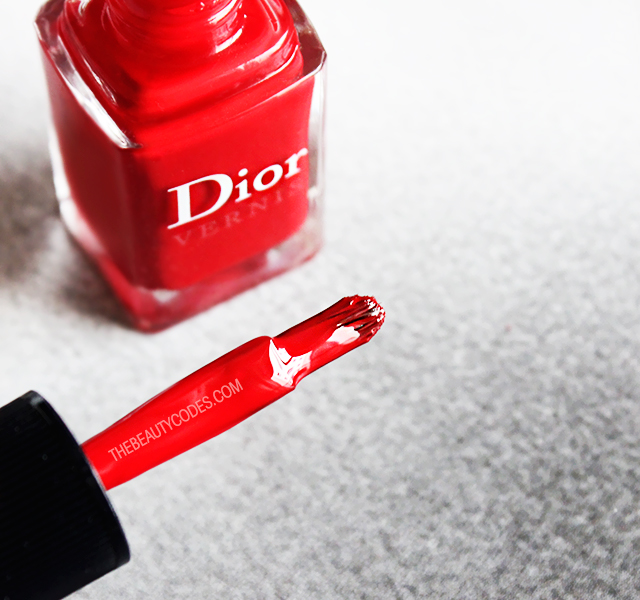 Dior Esmaltes Rojo Opinion