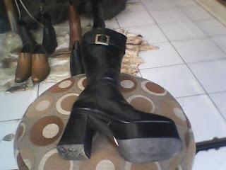 sepatu boot impor