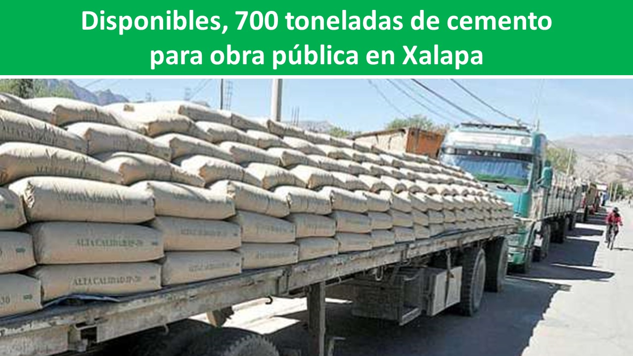 para obra pública en Xalapa