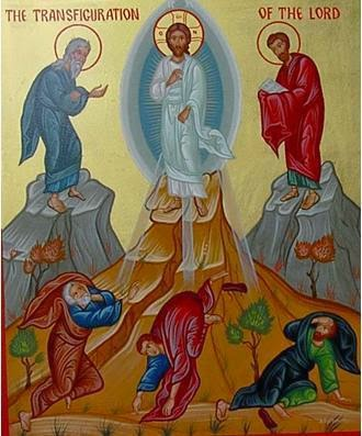 """Sermon for The Transfigruation of Our Lord: """"From Glory to Glory"""""""