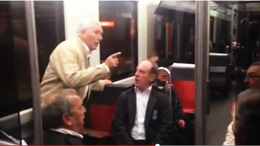 Paisaje humano,orfeón,metro