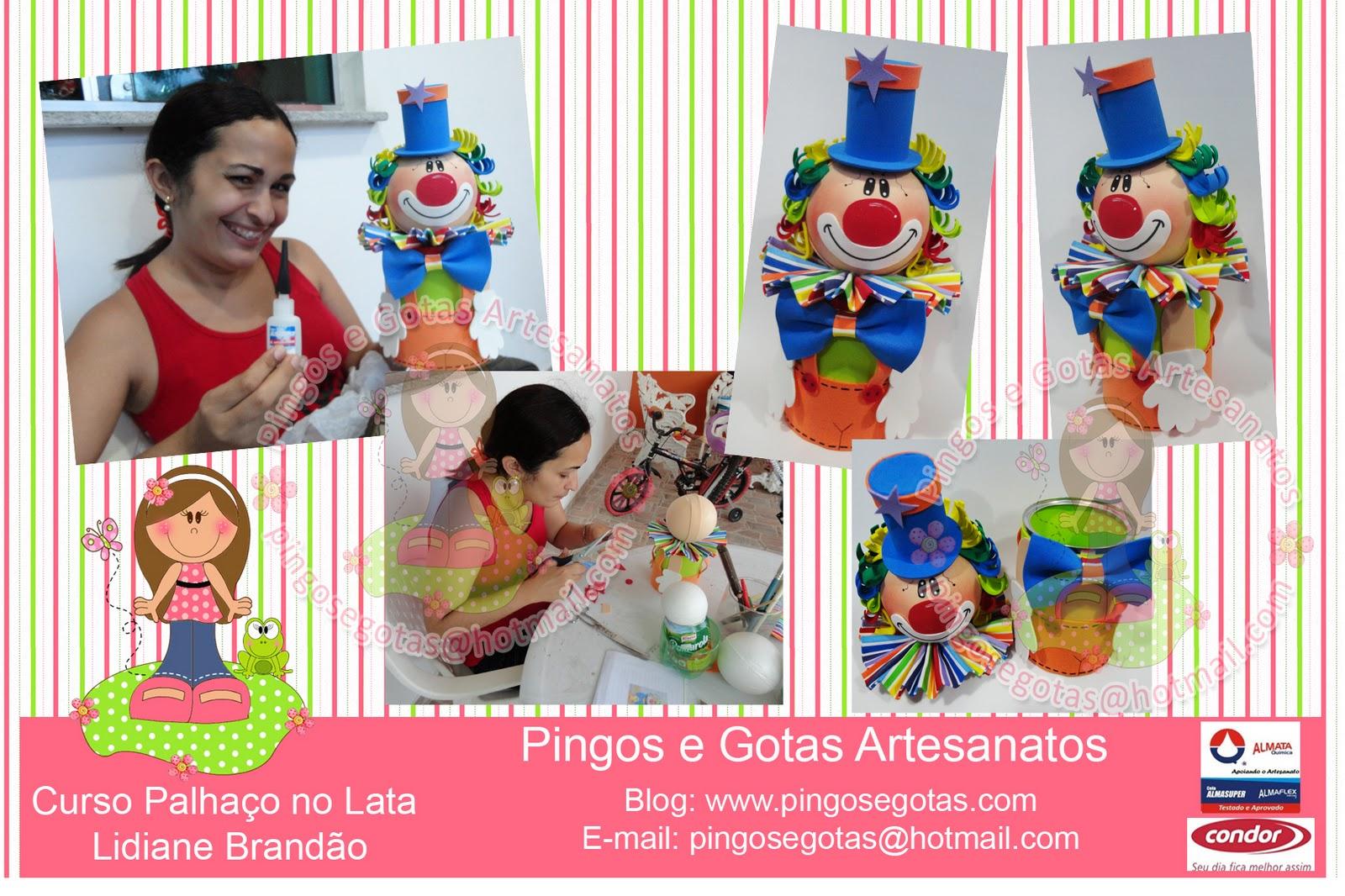 aqui a amiga Elcione Lima, fazendo novamente 2 bonecas, dessa vez a