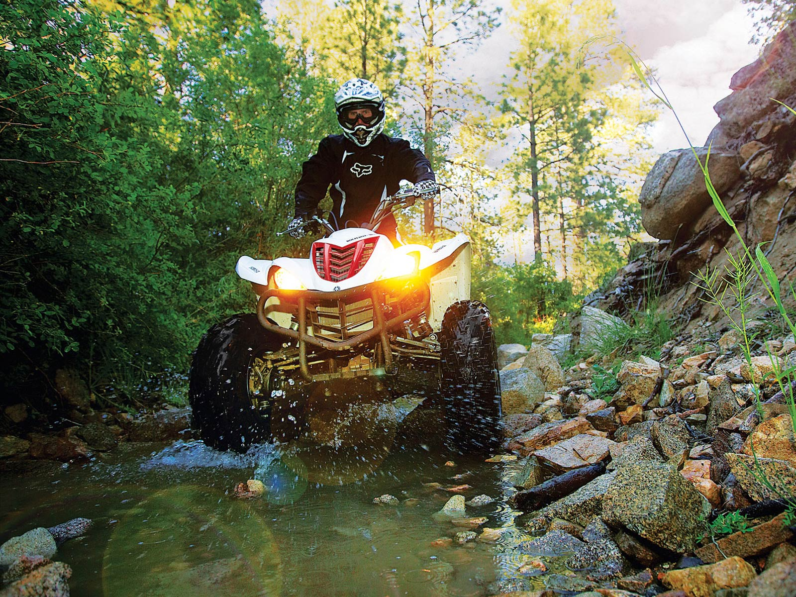 2010 yamaha wolverine 450 4x4 atv wallpapers specifications