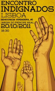 A Grécia ta a Arder Indigna-te Portugal Encontro Indignados Lisboa Vem Defender o Teu Futuro