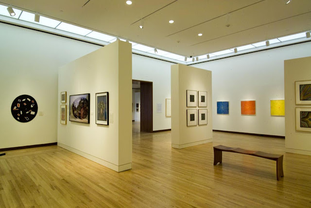 The New Britain Museum of American Art interior design gallery display room