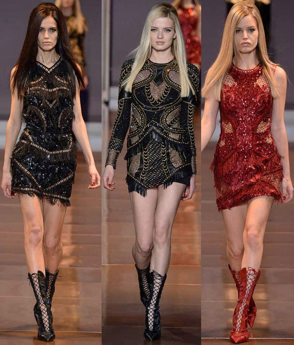 versace, fall 2014, runway, milan fashion week