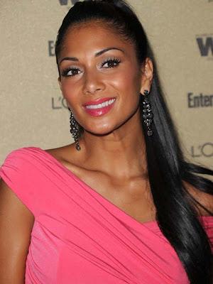 Nicole Scherzinger Gemstone Chandelier Earrings