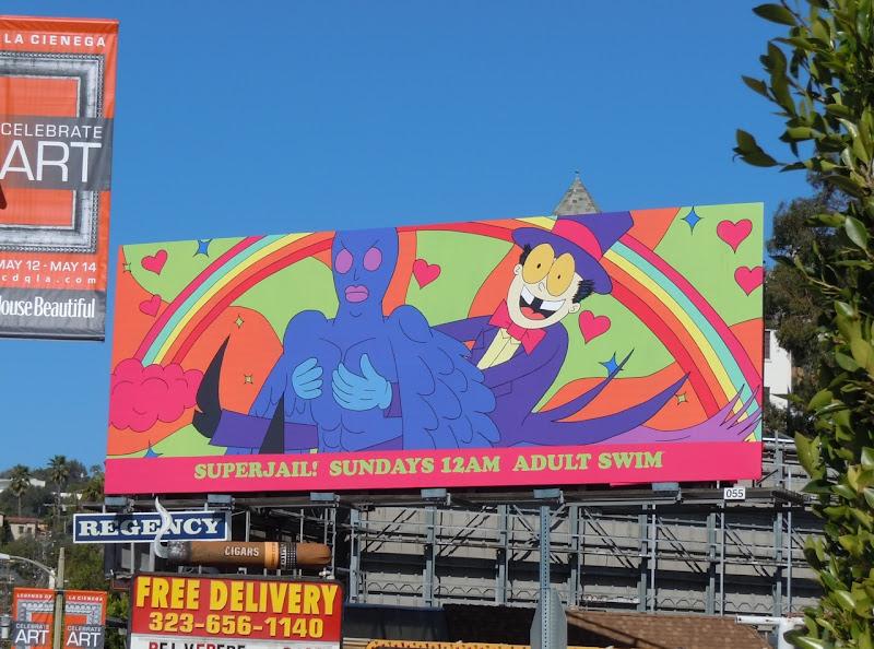 Superjail season 2 billboard