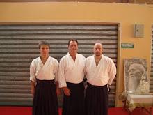 Stagiu Roquebrun sur Argens 2011 - Shihan Christian Tissier, Sensei Sorin Despa si Andrei Aioanei