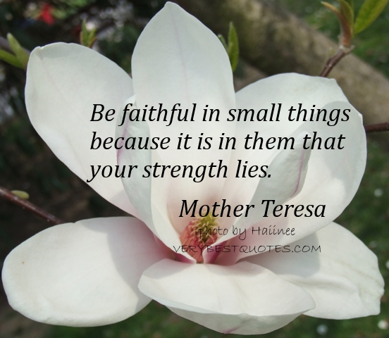 Small mother quotes