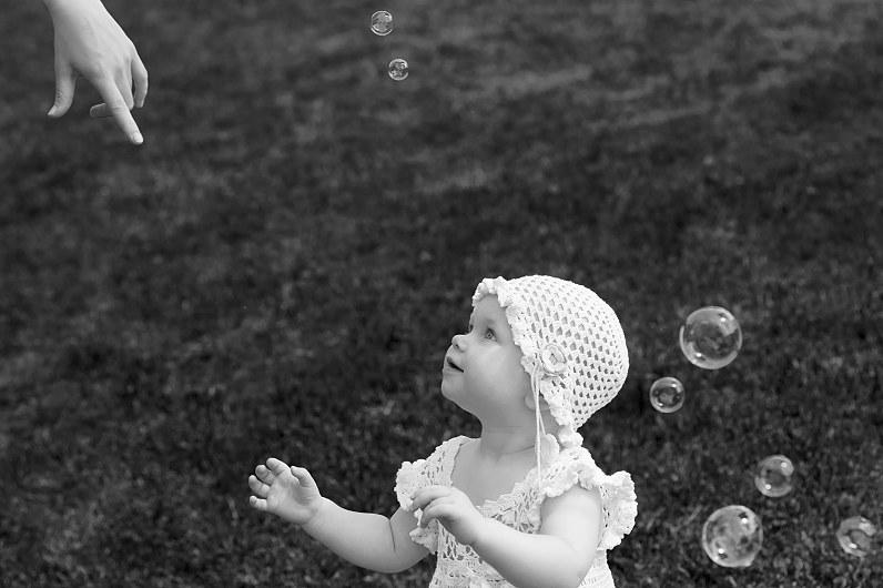 krikštynų fotosesija gamtoje