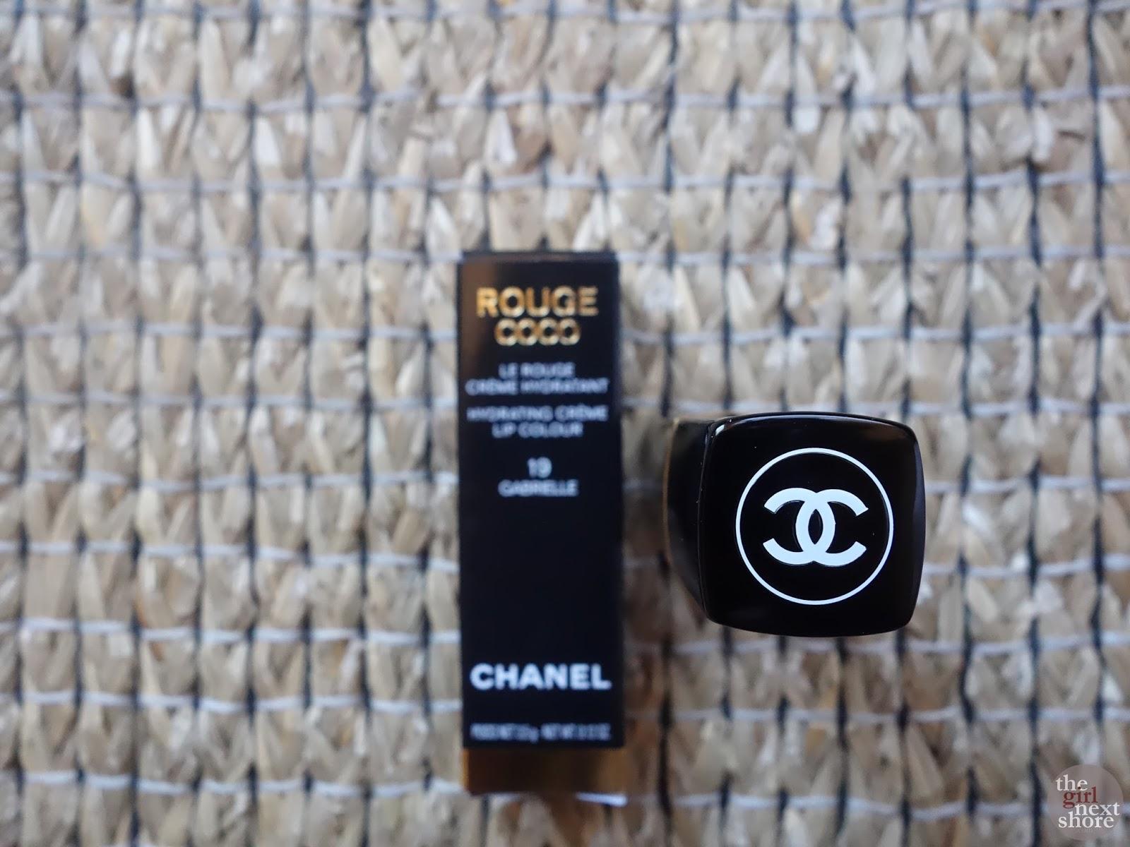 Lipstick Love: Chanel Rouge Coco 19 Gabrielle