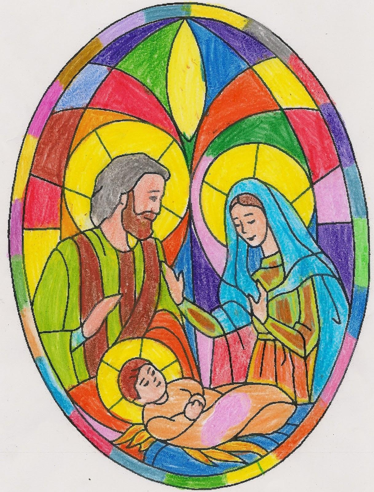 Educar con Jesús: Vidrieras de la Natividad