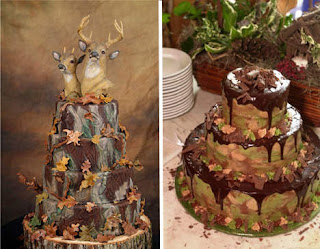 Delicious Camo Wedding Cakes Pictures