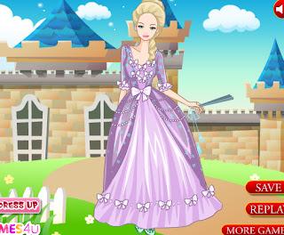 Juego de vestir a la princesa Milady