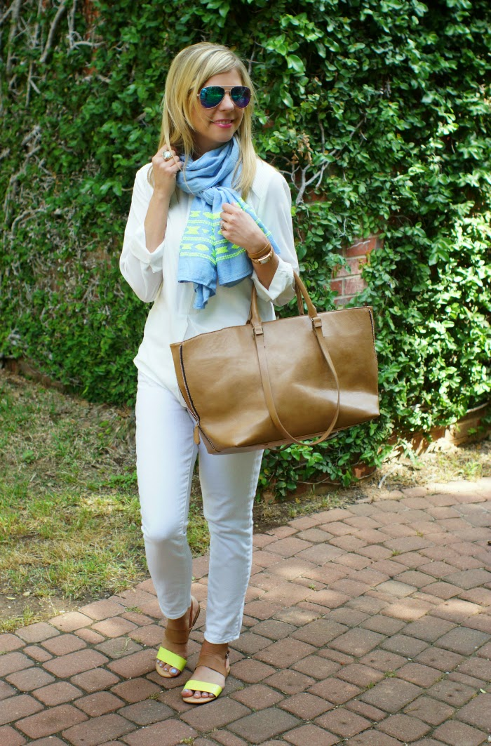 forever 21 tan tote