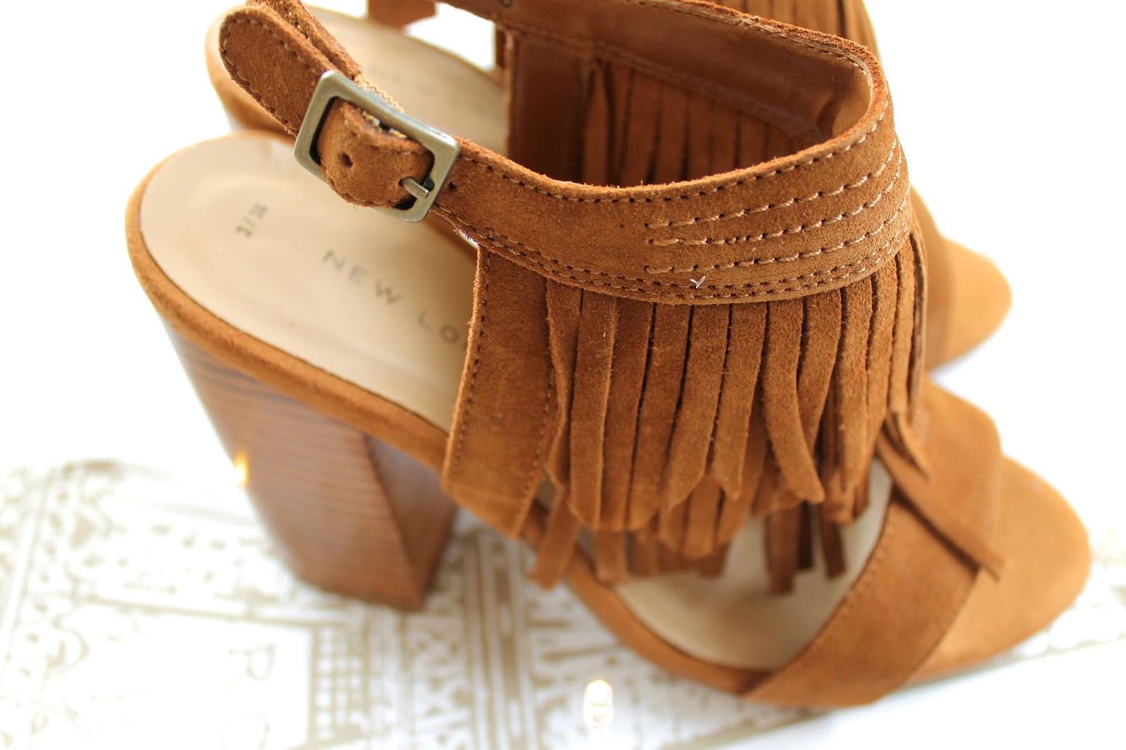 bec boop fringed heels festival new look