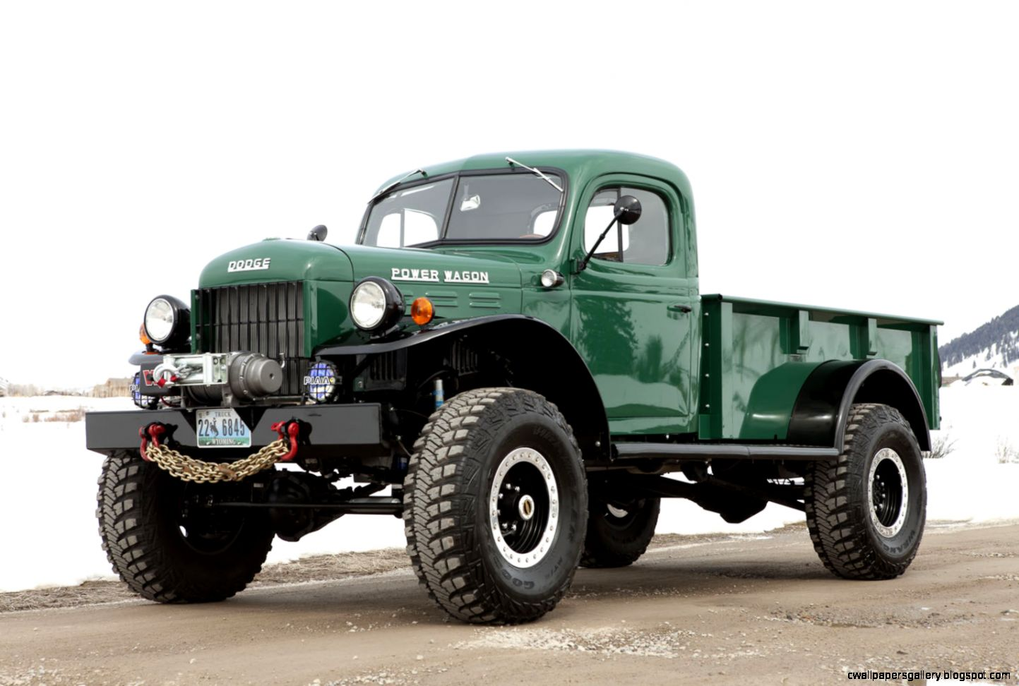 Vintage Dodge Power Wagon Truck