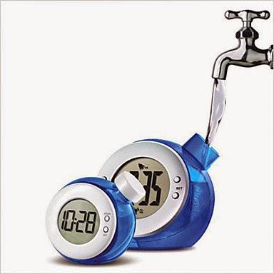 Reloj Despertador que Funciona con Agua