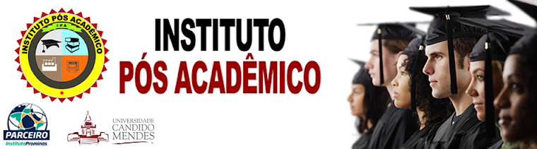 Instituto Pós Acadêmico - Parceiro do Instituto Prominas - UCAM - Profº Gutemberg Duarte