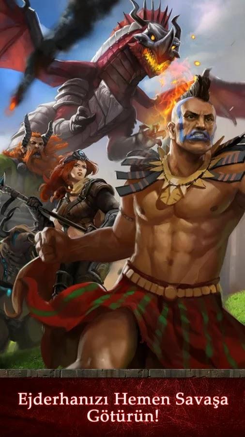 Android Dragons of Atlantis Apk resimi 5