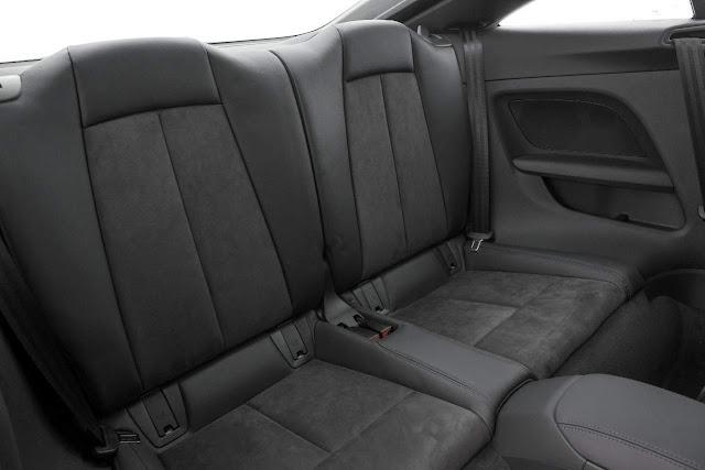 Novo Audi TT 2015 - espaço traseiro