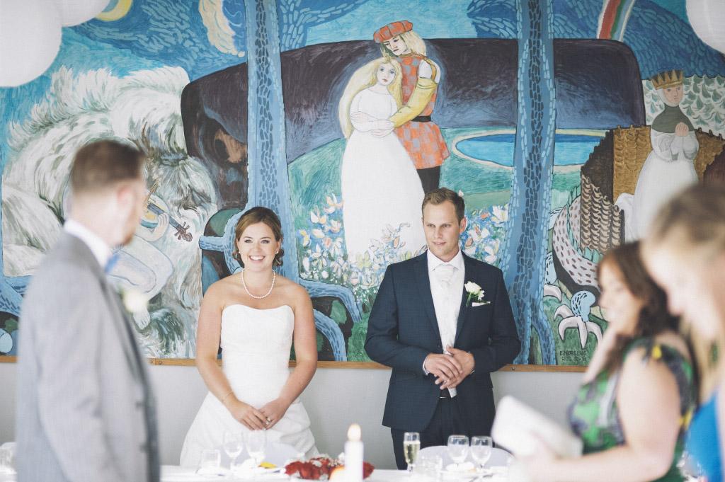 Bröllopsfest i Rog bystuga